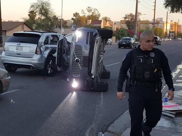 More details revealed about Uber's latest self-driving car crash