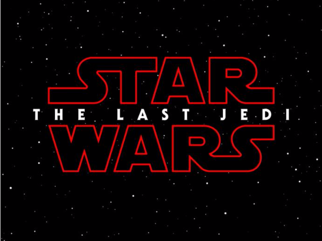 """Star Wars: Episode VIII The Last Jedi"" — December 15"