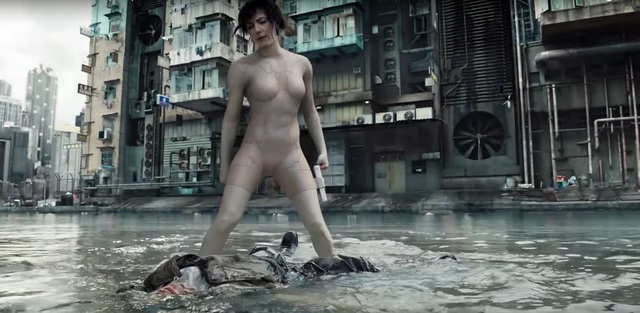 """""""Ghost in the Shell"""" — March 31"""