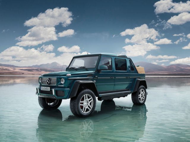 2. Mercedes has built the most expensive SUV in the world: the G650 Landaulet. The car, priced at $$666,400, was added to the automakers Maybach luxury line in March.