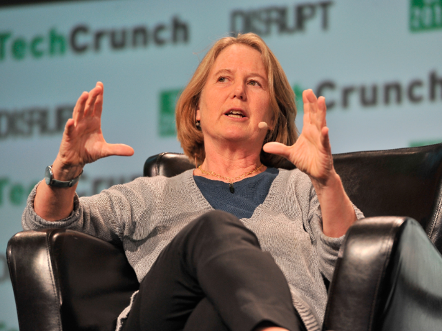 Diane Greene — who Google hired in 2015 — runs Google's cloud businesses, which includes G Suite (formerly Google Apps for Work), Google Cloud Platform, and more.