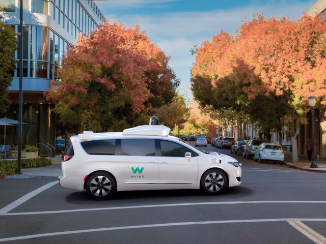 "Waymo, which stands for ""Way forward in mobility,"" has the mission of making ""it safe and easy for people and things to move around."" The cars have now driven two million miles, but have not yet become available for commercial use."