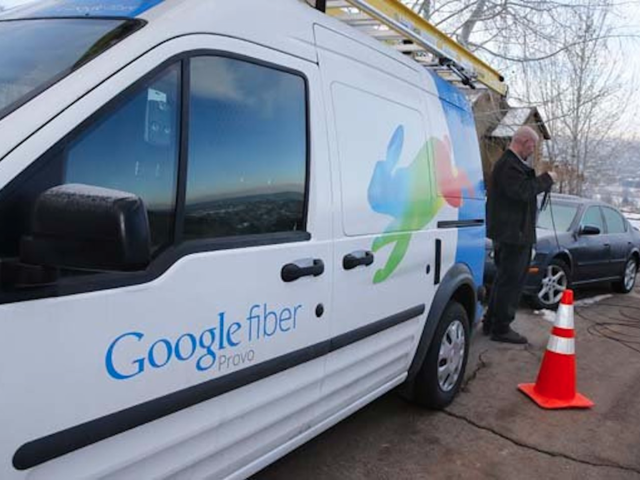 But Fiber has seen tough times lately, significantly scaling back its high-speed internet business and eliminating hundreds of jobs earlier this year. Rumors are swirling that Google may be trying to sell its Fiber division sometime this year.