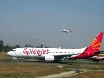 Spicejet flight plays the national anthem with seat belt on