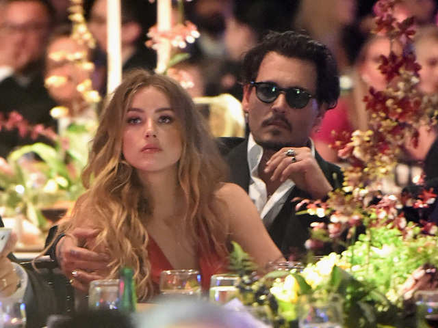 Heard and Depp got married in a private ceremony at their Los Angeles home in early 2015.