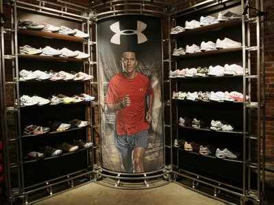 Under Armour's shoe business has ground to a halt - and it could spell doom for the company