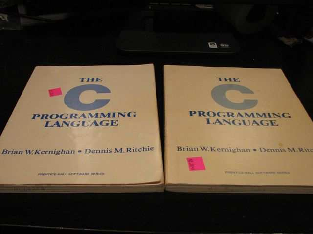 C: One of the oldest programming languages still in common