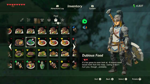 10 crucial recipes for surviving in the legend of zelda breath of when in doubt pile ingredients into the cooking pot and pray forumfinder Choice Image
