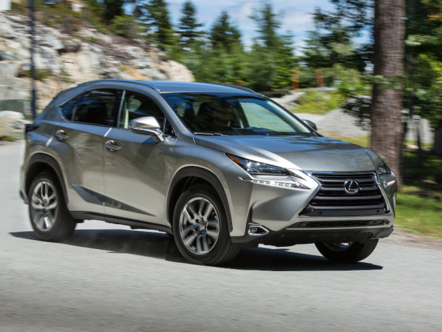 Best Luxury Compact Suv >> Best Luxury Compact Suv For The Money 2017 Lexus Nx