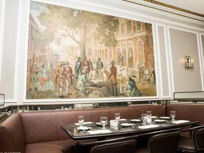 There's an exclusive, invite-only restaurant inside the New York Stock Exchange where only listed companies and employees can eat