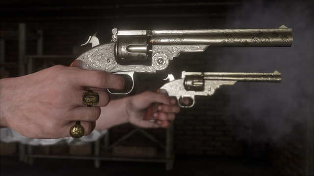 Revolvers, shotguns, and rifles are sure to be standard means of dealing with hostile encounters.