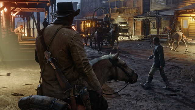 """It's not clear exactly when """"Red Dead Redemption 2"""" takes place. The previous game tracked the transition of the American Frontier from its """"Wild West"""" days to the beginning of modernity. The sequel seemingly takes a step back in time."""