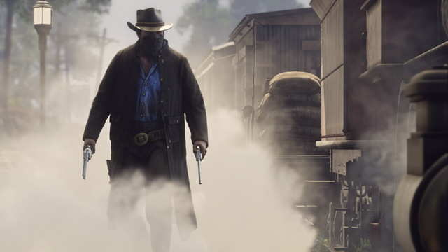 "It also means gunslingers and six-shooters and bandit masks. This isn't just a tale of America's ""Wild West,"" but a tale of cowboys, robbers, and the evolution of American society."