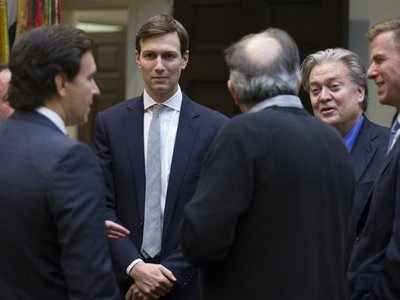 Report suggests potentially alarming development in Jared Kushner's meeting with the head of a sanctioned Russian bank