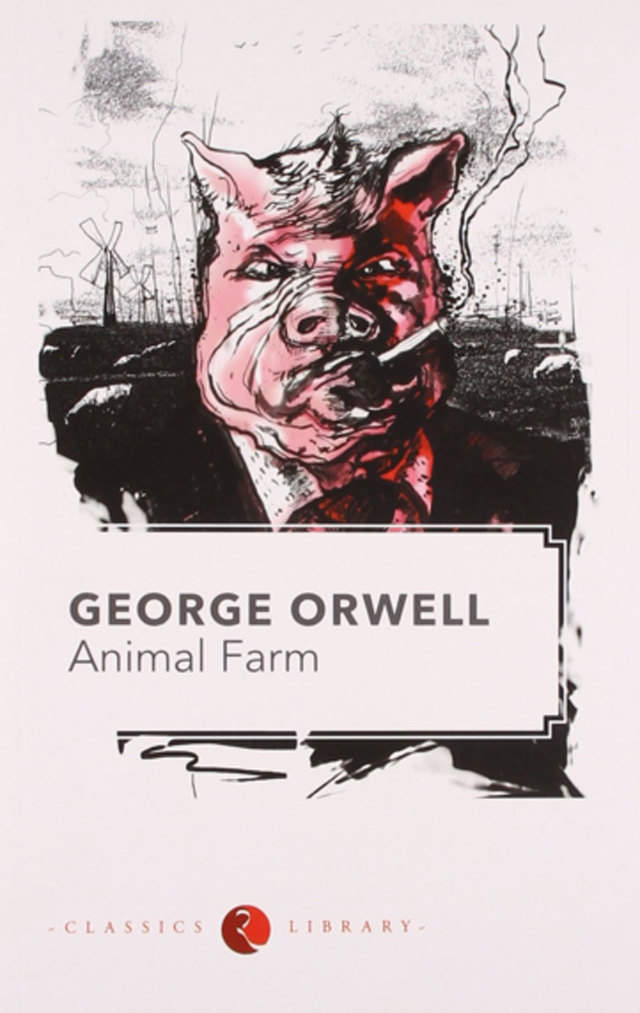 inside george orwells mind about animal George orwell is the pseudonym of eric blair who was born at george orwell was sick in mind and body animal farm, the book that launched orwell to fame.