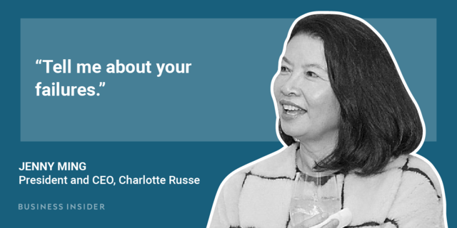 Charlotte Russe president and CEO Jenny Ming