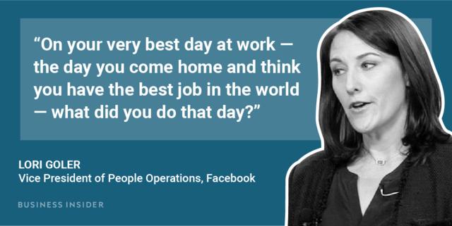 Facebook HR chief Lori Goler