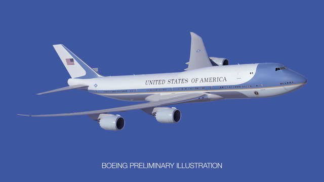 cf8418a7c In 2015, the US Air Force announced that it will order a pair of new Boeing  747-8 Intercontinental-based presidential aircraft set to enter service in  2024.