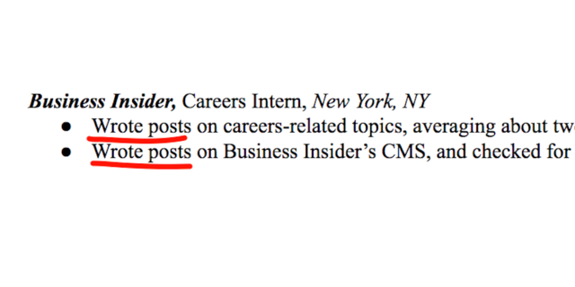 the 13 most common resume mistakes business insider india