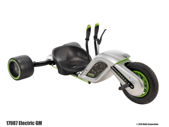 Huffy Electric Green Machine 24 Volt Battery-Powered Ride On
