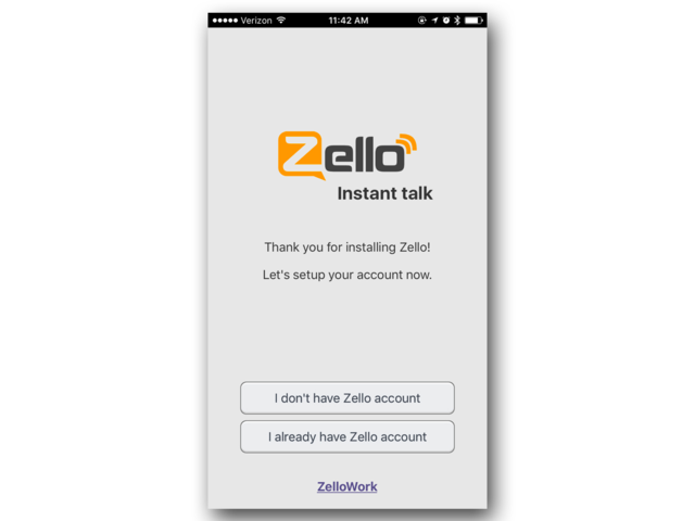 Zello Is Free To Use And Doesnt Have Ads In Order To Start