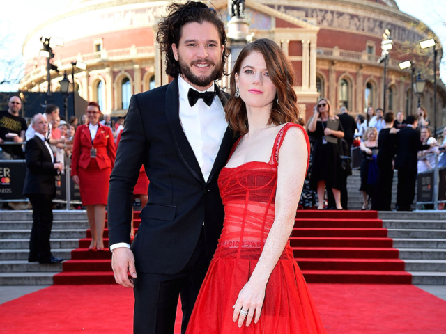 May 2017: Harington and Leslie begin apartment-hunting as they plan to move in together.
