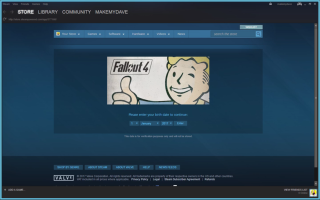 "For ""Fallout 4,"" the GeForce Now app launched a virtual version of Valve's Steam storefront."