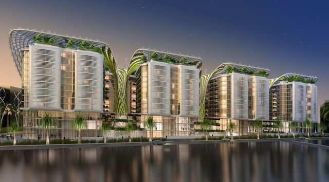 This futuristic complex will feature indoor \'mega-trees\' and 1,000 ...