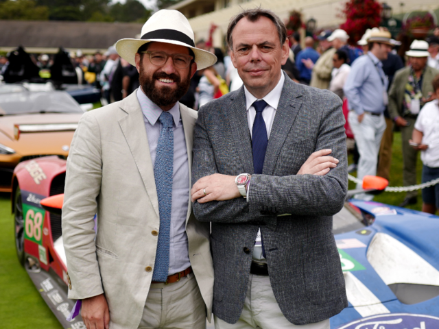 Thats Autodromos Bradley Price And Ford Gt Designer Chris Svensson The Le Mans Winning