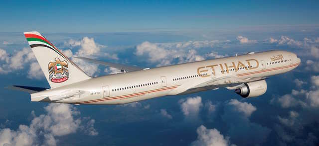 9.Etihad Airways: Abu Dhabi, United Arab Emirates to Los Angeles, California: 8,375 miles