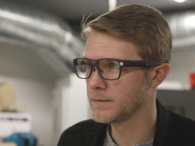 Intel designed these glasses to be worn in public without feeling like a technophile.