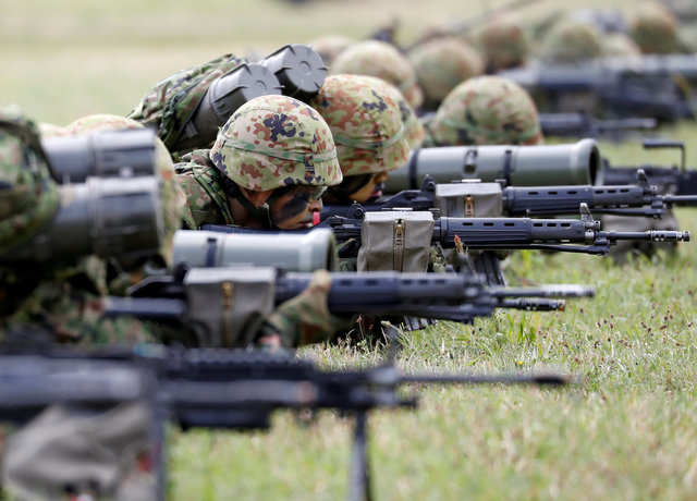 Japan's military activated its first marine unit since World