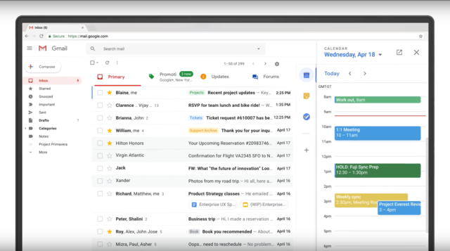 Google just revealed a huge update to Gmail