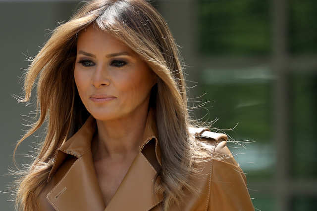 She is only the second first lady in American history born outside of the United States, in Slovenia. The only other foreign-born first lady was Louisa Catherine Johnson, the wife of John Quincy Adams, who was born in England.