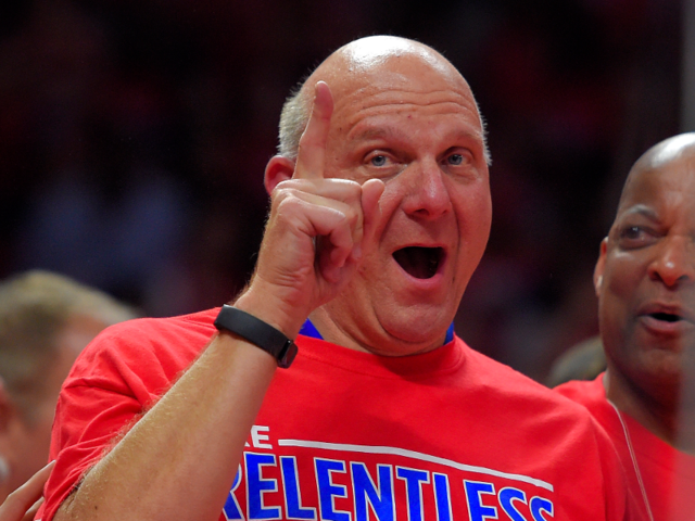 10. Steve Ballmer, former Microsoft CEO. Net worth: £28.4 billion ($38.5 billion). Ballmer now owns NBA's Los Angeles Clippers.
