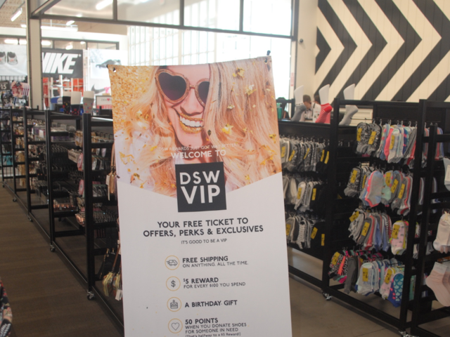 5254d5e83f8 DSW has completely changed its stores and rewards program as it ...
