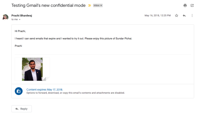 Here's how to send emails that expire with Gmail's new 'confidential