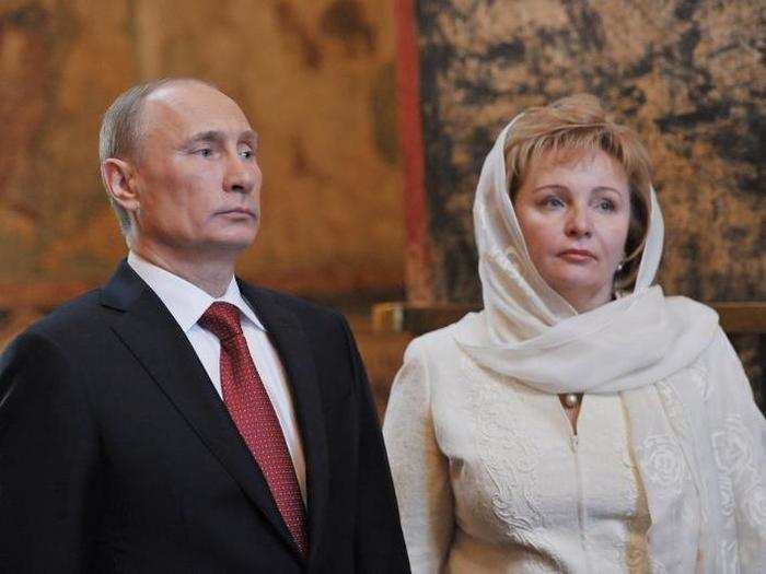 Putin had two daughters in his first marriage to former flight attendant Lyudmila Shkrebneva, who he was married to for three decades before their divorce in 2013.