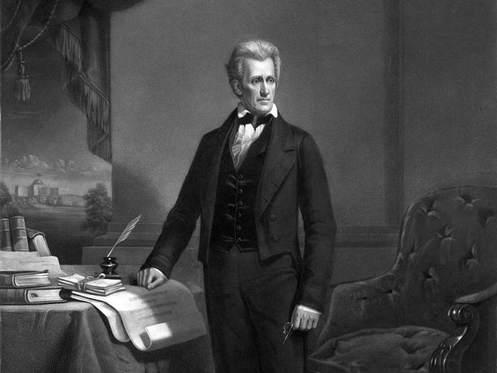 Andrew Jackson, 9