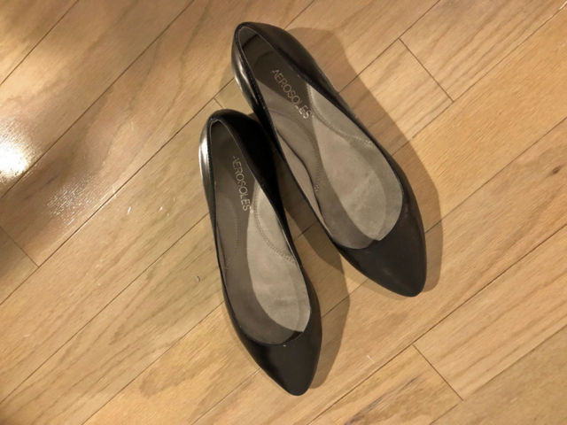 ... and these shoes fit great, too.