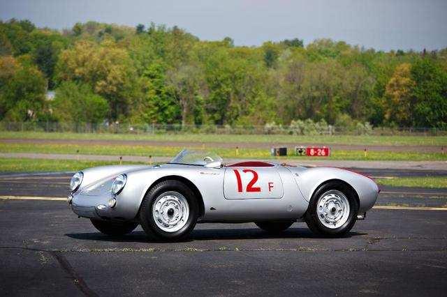 1955 Porsche 550 Spyder (Estimate: $4,000,000 to $5,000,000)