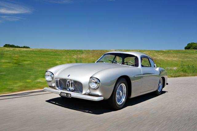1956 Maserati A6G 54 Berlinetta (Estimate: $4,300,000-$4,600,000)