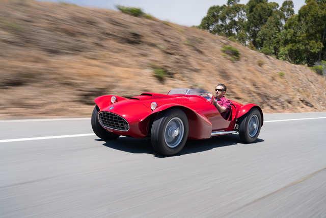 1952 Siata 208CS Corsa Spider (Estimate: $1,800,000 to $2,200,000)