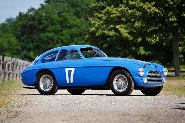 1950 Ferrari 166 M 195s Berlinetta Le Mans ($6,500,000-$7,500,000)