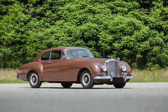 1952 Bentley R Type Continental Fastback (Estimate: $1,500,000-$2,000,000)
