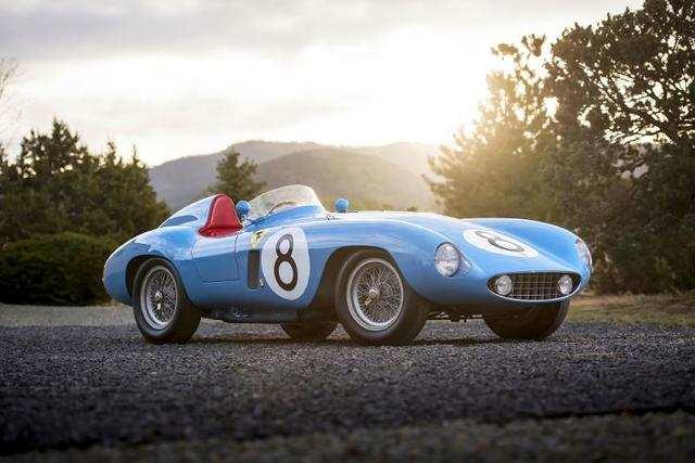 1955 Ferrari 500 Mondial Series II (Estimate: $5,500,000-$7,500,000)