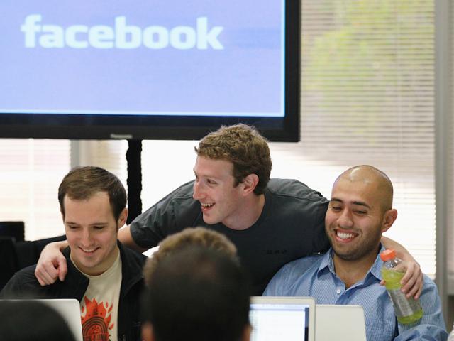 No. 2: Facebook, $156,455