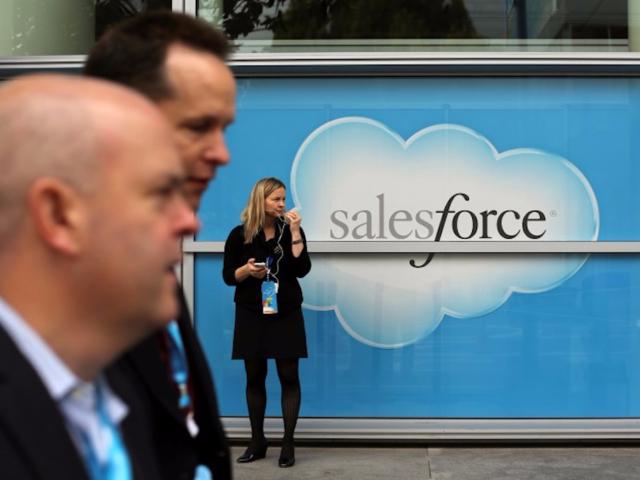 No. 3: Salesforce, $153,636