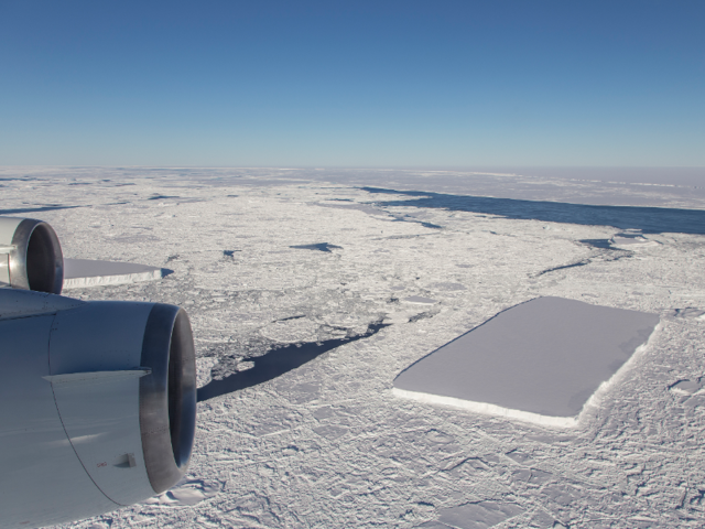 NASA spots not one but two rectangular icebergs in Antarctica