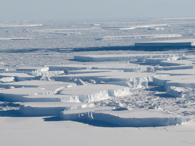 Ice, Ice Baby: Second Strange Rectangular Iceberg Spotted in Antarctica